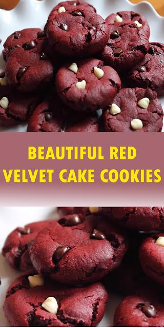 BEAUTIFUL RED VELVET CAKE COOKIES