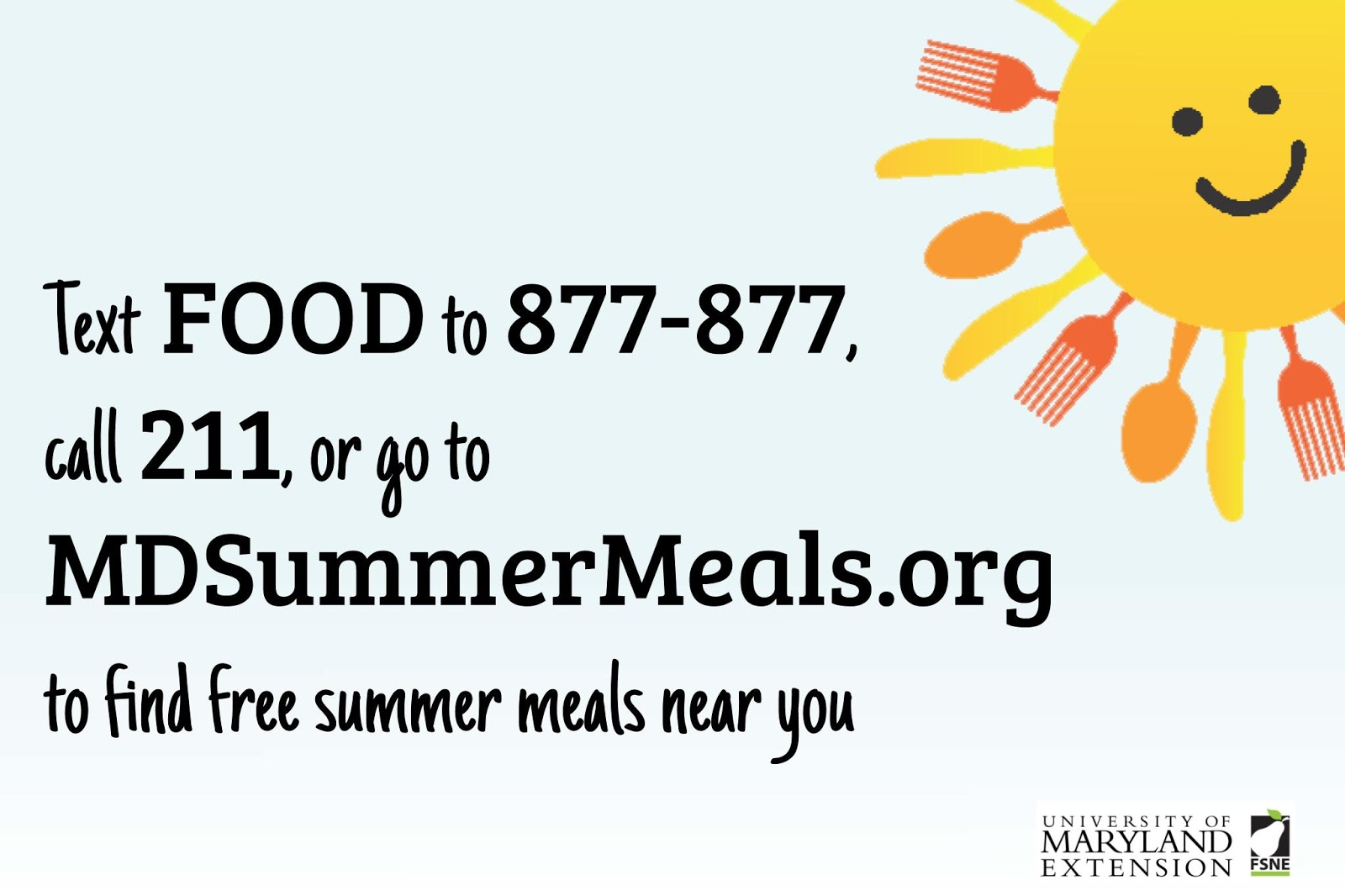 Kids Eat Free with Summer Food Programs! / Eat Smart, Be Fit