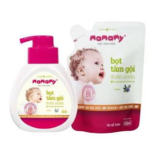 sữa tắm Mamamy