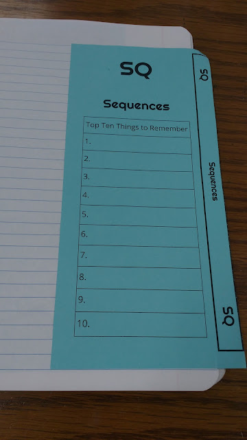 Math = Love: Sequences Interactive Notebook Pages - Algebra 1