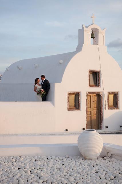 santorini greece wedding
