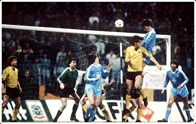 Bayer Uerdingen Dynamo Dresden UEFA Cup Winners Cup 1986