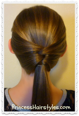 Woven ponytail hair tutorial. So easy!