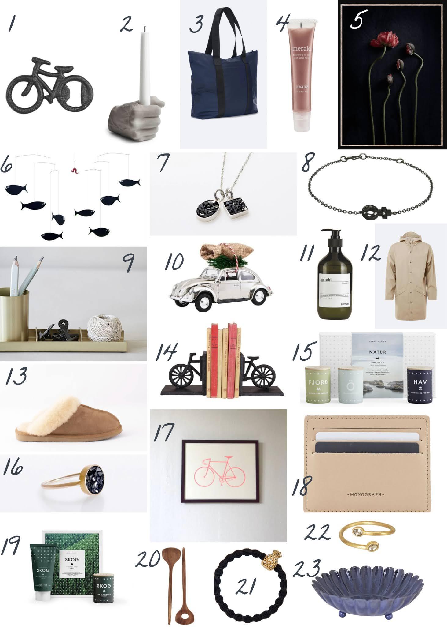 Blåbär Nordic Living Christmas Gift Guide Collage