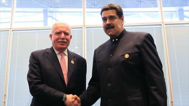 Maduro expresa su apoyo a una Palestina soberana e independiente