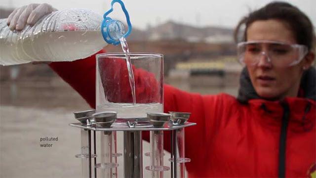 أسرع  وارخص طريقة لتنقية المياه