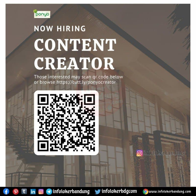 Lowongan Kerja Content Creator Resto And Wedding Bandung Mei 2021