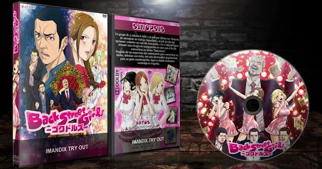 Back Street Girls: Gokudolls | Cover DVD |