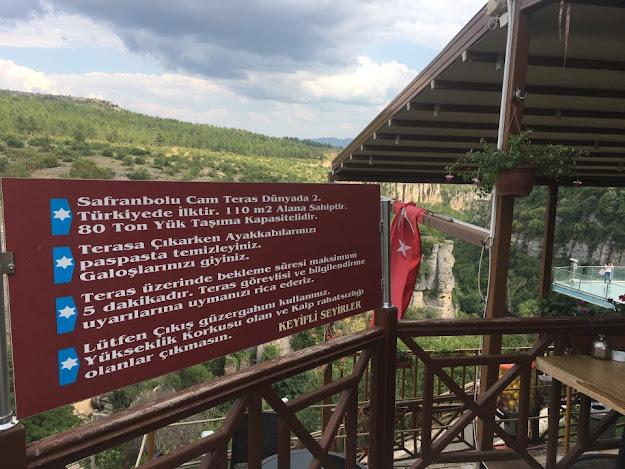 Safranbolu Cam Teras Giriş Ücreti 2020