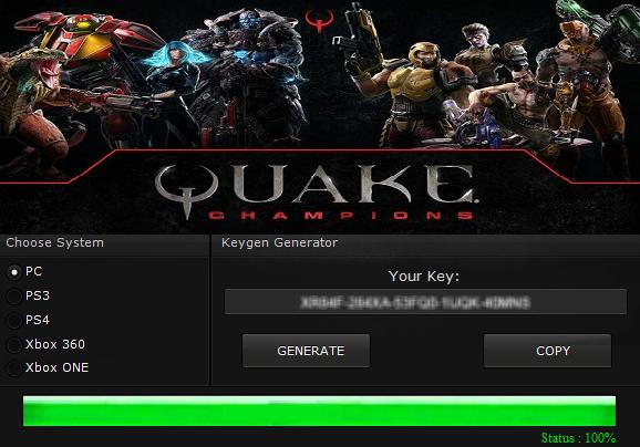serial number quake 4