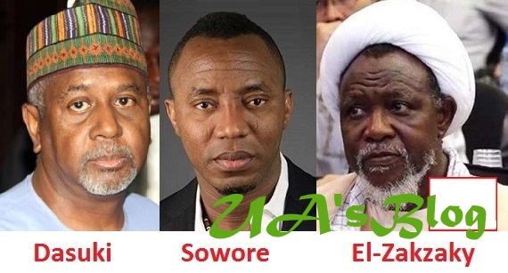 Dasuki, Sowore, El-Zakzaky Chose To Be Kept In Our Custody – Says DSS