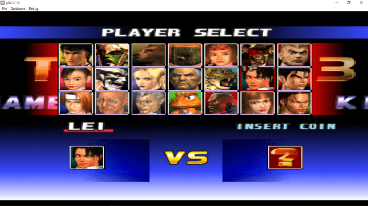 Tekken 3 PC Game all characters