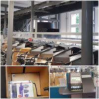 Sortiermaschine Bücherhallen