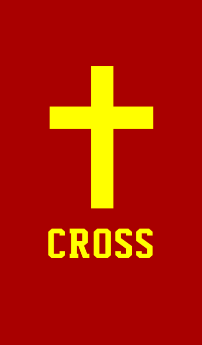 SIMPLE CROSS style 8