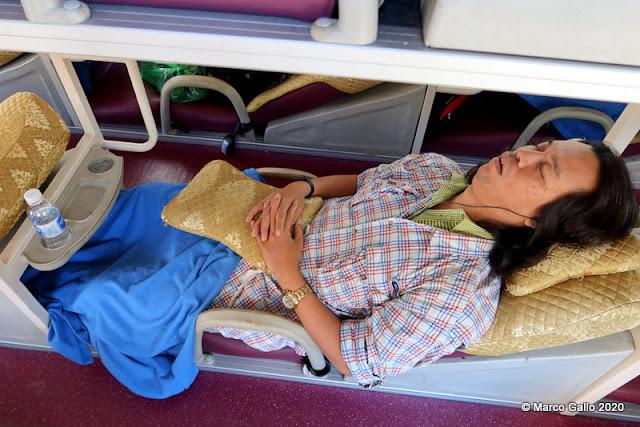 LOS SLEEPING BUS DE VIETNAM