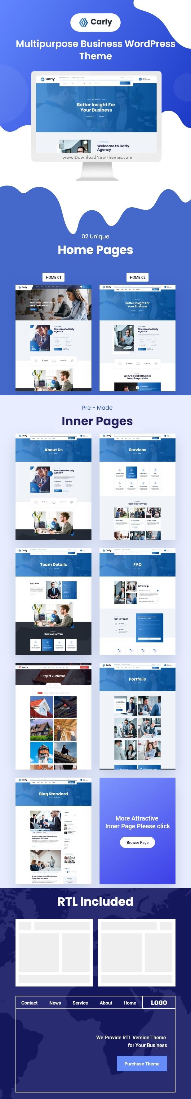 Multipurpose Business WordPress Theme