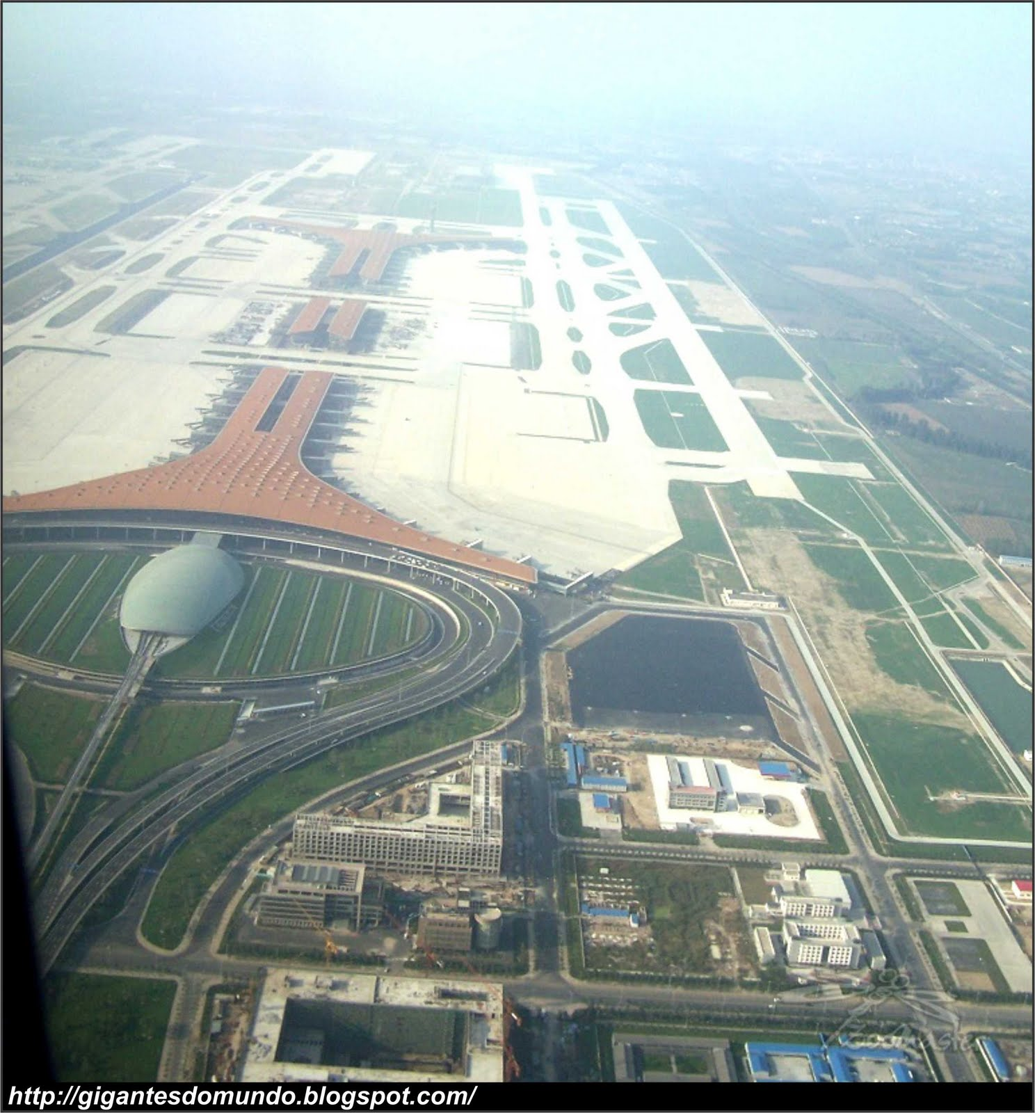 Aeroporto Do : O maior aeroporto do mundo gigantes do mundo