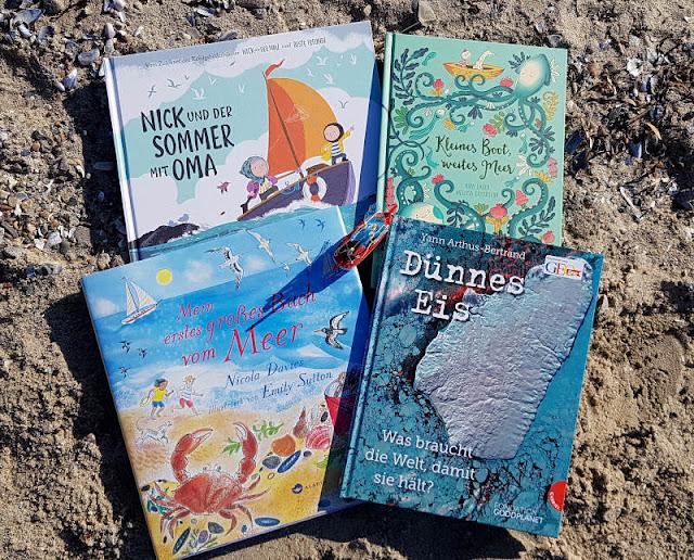 Heute ein Buch! Kinderbücher über die Schönheit und Schutzbedürftigkeit der Meere. Ich stelle Euch auf Küstenkidsunterwegs tolle Kinder- und Jugendbücher für verschiedene Altersstufen vor, die sich mit dem Schutz der Ozeane bzw. Natur- und Umwelt-Aspekten beschäftigen.