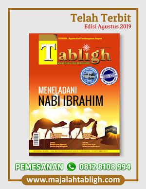 Majalah Tabligh Edisi Agustus 2019