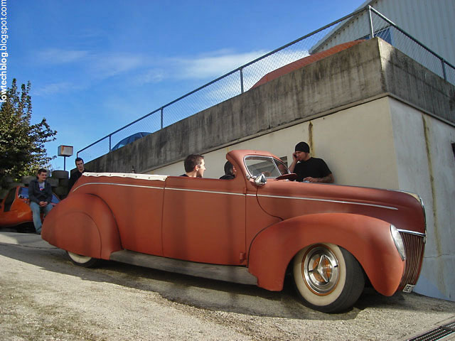 Lowtech Traditional Hot Rods And Customs Momo Goes Tuck N Roll