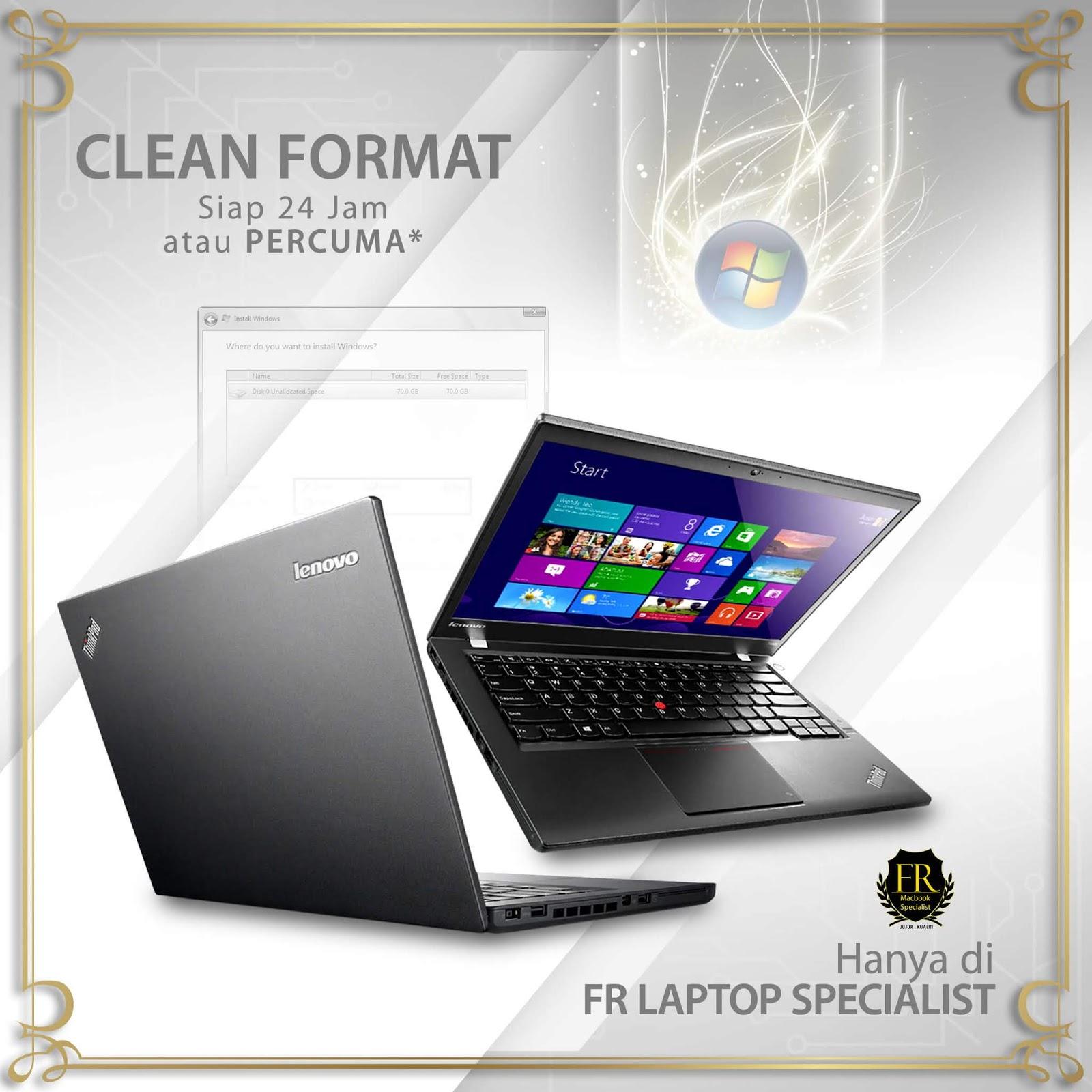 FR Laptop Kedai Format Laptop Murah Di KL