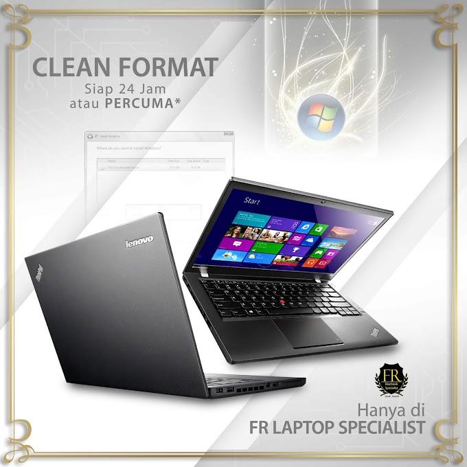 Kedai Format Laptop Murah Di KL