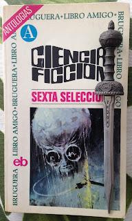 Portada del libro Ciencia ficción sexta selección, de varios autores