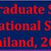 Full Undergraduate Scholarships for International Students in Thailand 2018