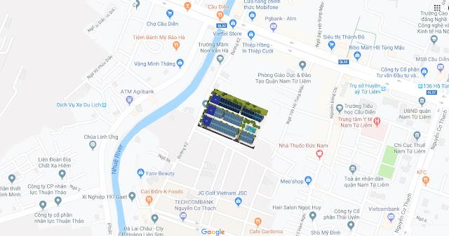 Dự án Sunshine Mystery Villas Mỹ Đình liền kề shophouse đường K2 Hà Nội