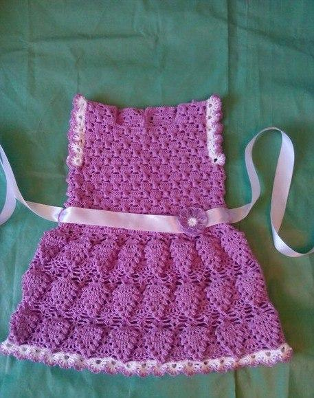 Dressed in crochet here in shop. With details on flowers. See the pattern below.
