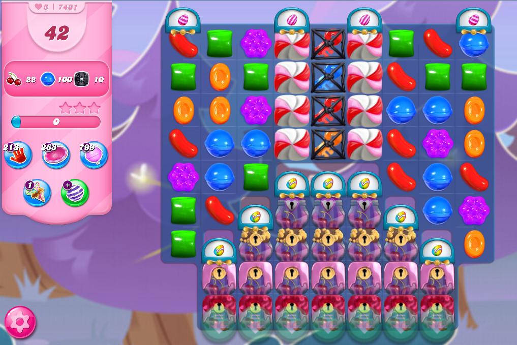 Candy Crush Saga level 7431