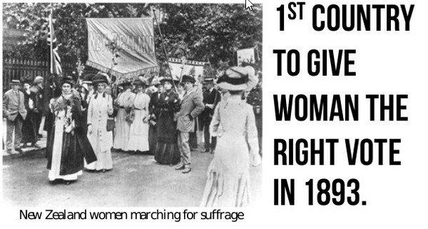 Dünyada İlk Kez Kadınlara Oy Hakkı Tanıyan Ülke: Yeni Zelanda