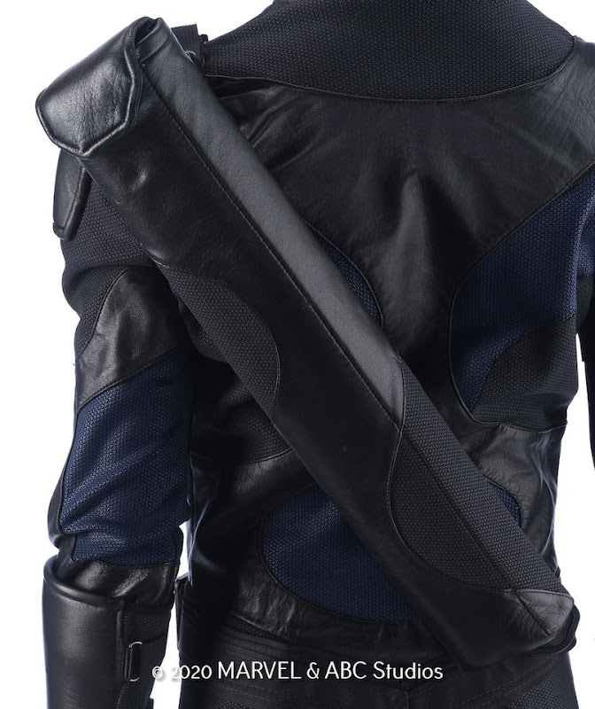 Agents of SHIELD Mockingbird costume back