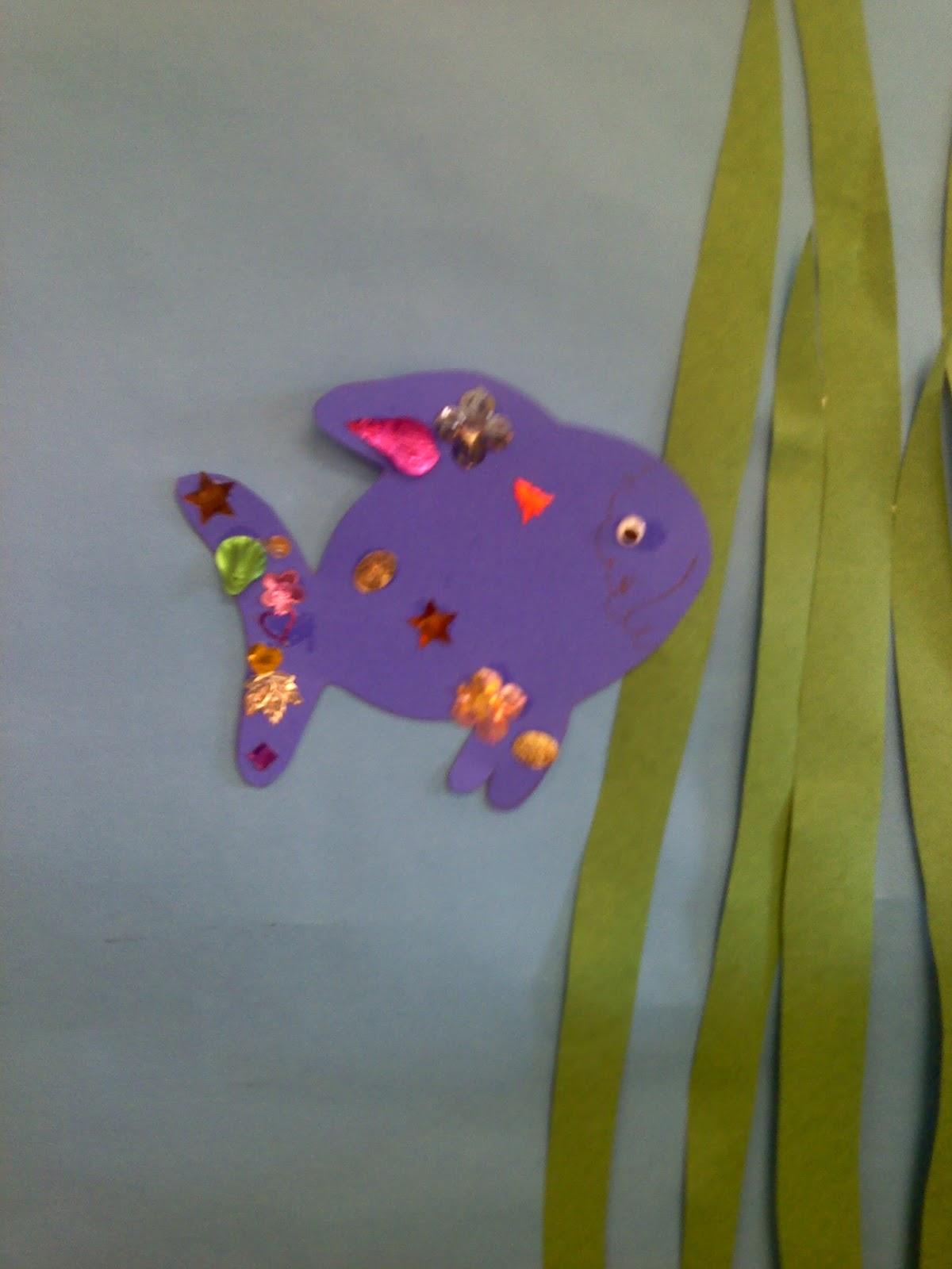 Crafts For Preschoolers Rainbow Fish
