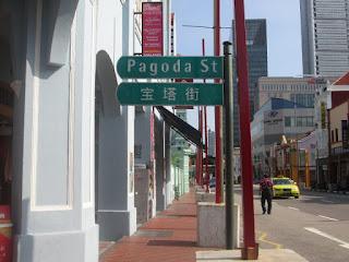 Pagoda Street, Chinatown, Singapura