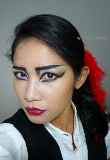 Makeup's Tutorials: FOTD: Siouxsie Sioux Inspired Makeup