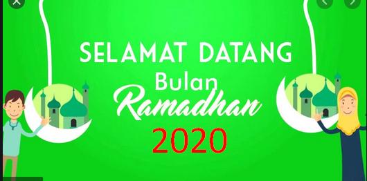 Surat Edaran Menag Tentang Puasa Ramadhan dan  Sholat Idul Fitri Tahun 2020 SE Nomor 6 Tahun 2020