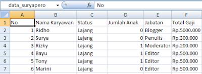 Cara Berbagi Data antara Microsoft Excel dan microsoft Access