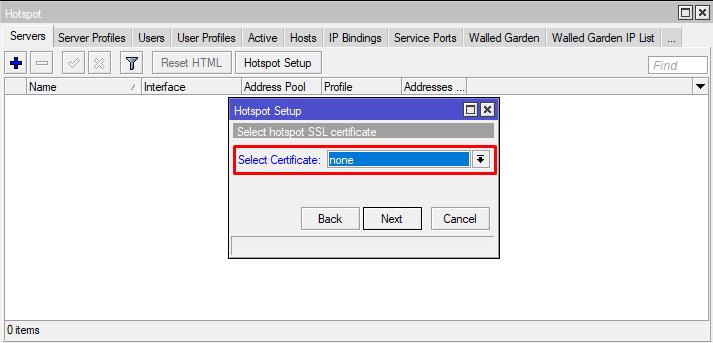 Cara seting HotSpot pada Mikrotik Lengkap