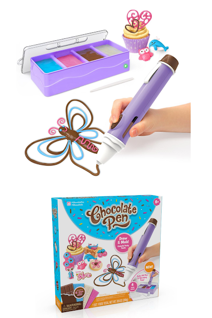 Chocolate Pen for Kids to Decorate and Eat