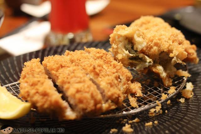 Hire & Oyster Katsu Set of Yabu