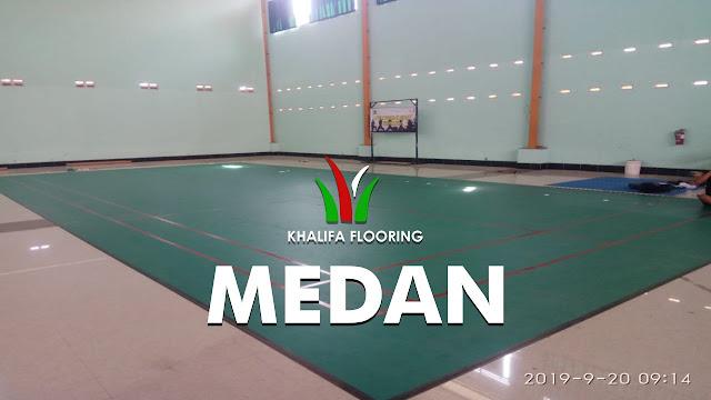 Jual Karpet Lapangan Badminton di Medan