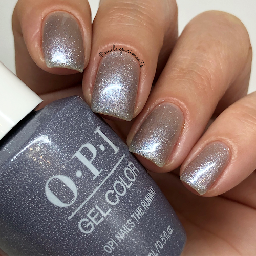opi opi nails the runway gel color muse of milan fall 2020