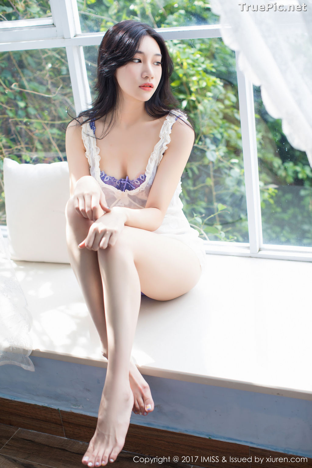 Image IMISS Vol.187 - Chinese Model Xiao Hu Li (小狐狸Sica) With Stockings Beautiful Legs - TruePic.net - Picture-2
