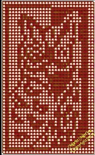 Filet Crochet Filet Crochet Natural Owl Window Curtain