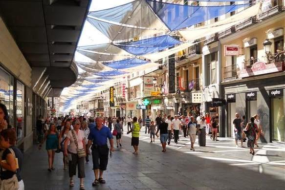 Calle de Preciados Compras Madri