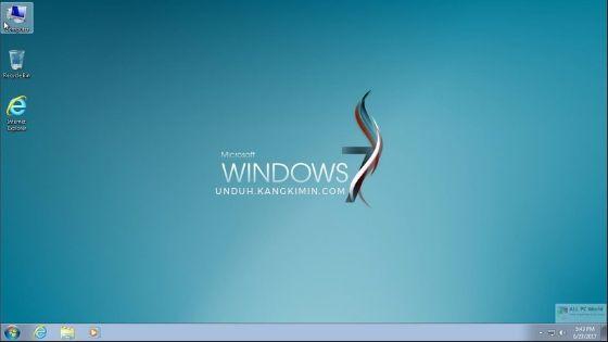 Versi / Jenis Windows 7 Paling Ringan dan Cepat