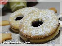 Sablés sans gluten fourrés à la confiture