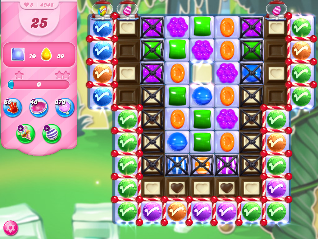 Candy Crush Saga level 4948