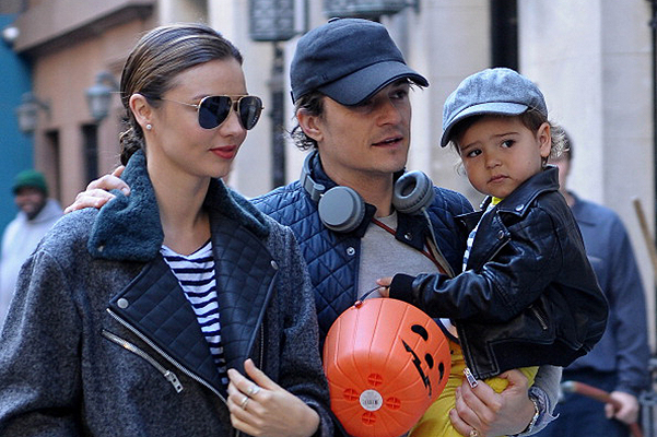 Closer to home: Orlando Bloom moves into the House next door with Miranda Kerr